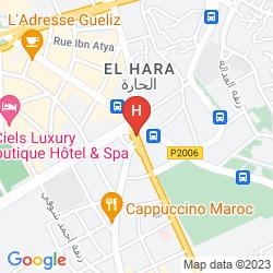 Map RESIDENCE HOTEL ASSOUNFOU & SPA