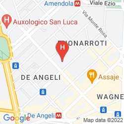 Map AMENDOLA FIERA