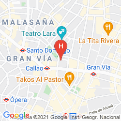 Map APARTAMENTOS H2 GRAN VIA