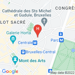 Map SANDTON BRUSSELS CITY CENTER