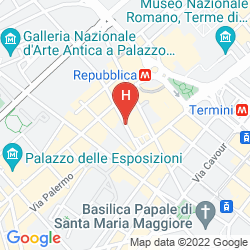Map iQ HOTEL ROMA