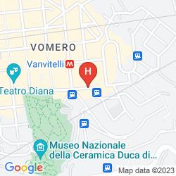 Map HOTEL CIMAROSA