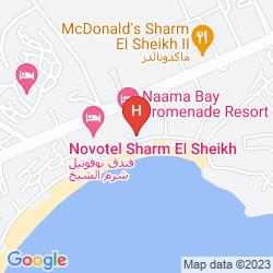 Map SHARM EL SHEIKH MARRIOTT RESORT