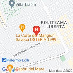 Map PRINCIPE DI VILLAFRANCA