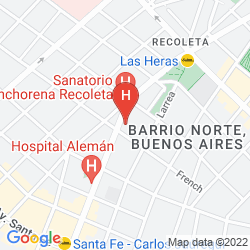 Map ARENALES APART HOTEL