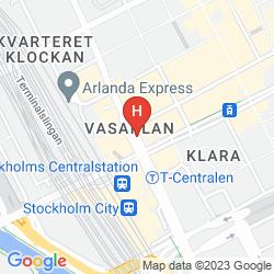 Map RADISSON BLU ROYAL VIKING