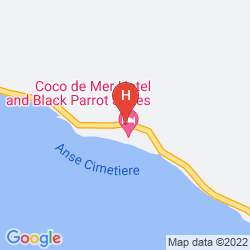 Map COCO DE MER HOTEL BLACK PARROT SUITES