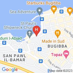 Map MEDITERRANEA HOTEL & SUITES
