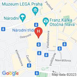 Map U DVOU ZLATYCH KLICU