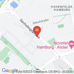 Map MOTEL ONE HAMBURG-ALSTER