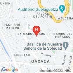 Map OAXACA DORADO