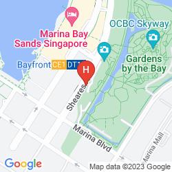 Map MARINA BAY SANDS