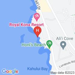 Map KONA COAST RESORT