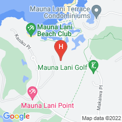 Map THE ISLANDS AT MAUNA LANI