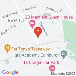 Map EDINBURGH 37