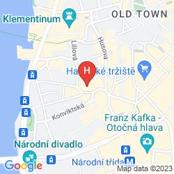 Map APARTMENTS HAPPY PRAGUE