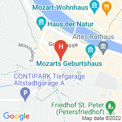 Map GOLDENER HIRSCH, A LUXURY COLLECTION HOTEL