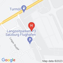 Map AUSTRIA TREND SALZBURG WEST