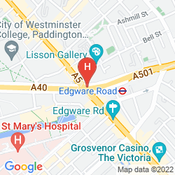 Map ABC HYDE PARK HOTEL
