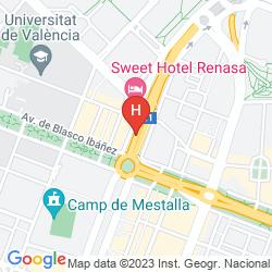 Map SWEET HOTEL RENASA
