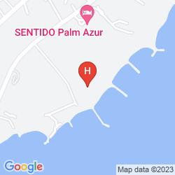 Map REGENCY RESORT DJERBA