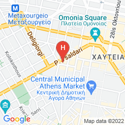 Map CHIC ATHENS HITECH