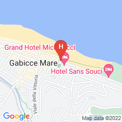 Map GRAND HOTEL MICHELACCI