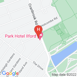 Map PARK HOTEL ILFORD