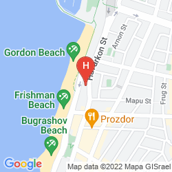 Map SHERATON TEL AVIV HOTEL AND TOWERS