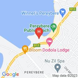 Map HIBISCUS BEACH RESORT & SPA & DIVE CLUB