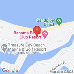 Map BAHAMA BEACH CLUB