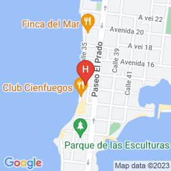 Map HOTEL E PALACIO AZUL