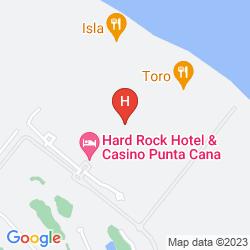 Map HARD ROCK HOTEL & CASINO PUNTA CANA