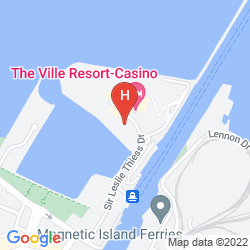 Map THE VILLE RESORT – CASINO