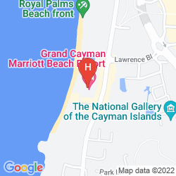 Map GRAND CAYMAN MARRIOTT BEACH RESORT