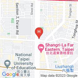 Map SHANGRI-LA'S FAR EASTERN PLAZA HOTEL, TAIPEI