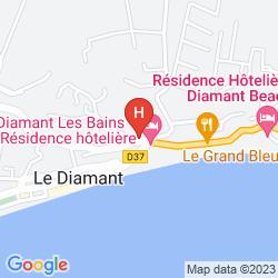 Map RESIDENCE MARINE HOTEL DIAMANT