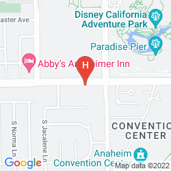 Map ANAHEIM DISCOVERY INN AND SUITES