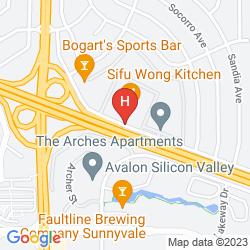 Map RAMADA SILICON VALLEY