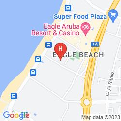 Map TAMARIJN ARUBA ALL INCLUSIVE