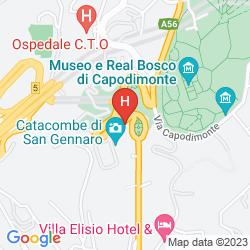 Map GRAND HOTEL CAPODIMONTE
