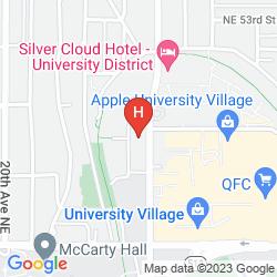 Map TRAVELODGE SEATTLE UNIVERSITY