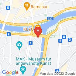 Map APARTHOTEL ADAGIO VIENNA CITY