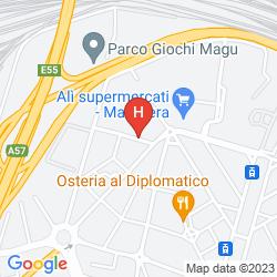 Map ANTICA VILLA GRAZIELLA