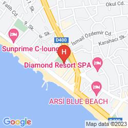 Map GRAND KAPTAN HOTEL