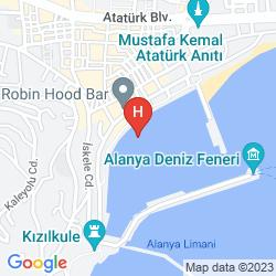 Map RENDA SUIT HOTEL