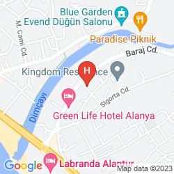 Map SEVKI BEY HOTEL