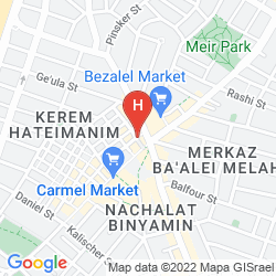 Map EILAT