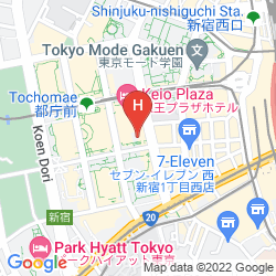 Map KEIO PLAZA