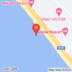 Map MIKADO HOTEL